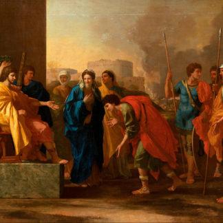 La Clémence de Scipion. Peinture de Nicolas Poussin
