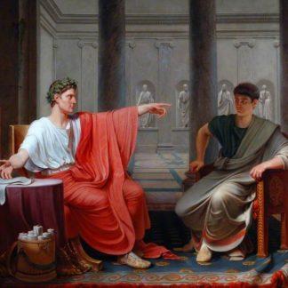 Cinna est pardonné par Auguste