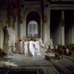 La mort de Jules César
