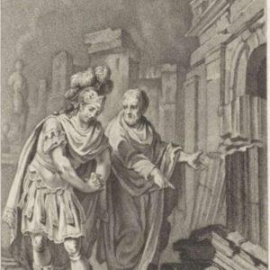 Scipion Émilien devant les ruines de Carthage