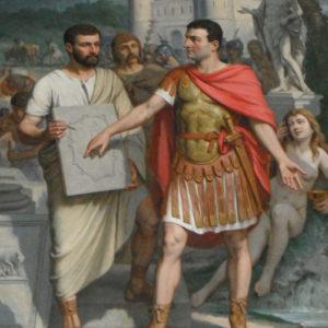 Fondation d'Aix par Sextius Calvinus, Joseph Villevieille