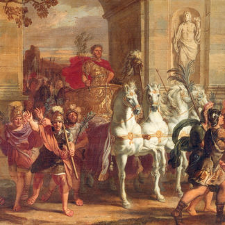 Le triomphe de Paul Émile, au Musée de l'Art Wallon, 1670, Liège
