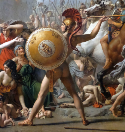 Romulus, Jacques-Louis David