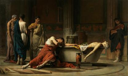 Le suicide de Sénèque Manuel Domínguez Sánchez, Museo del Prado