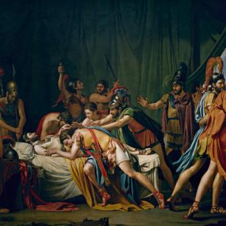 La mort de Viriathus Jose de Madrazo