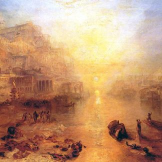 "William Turner ""Ovide expulsé de Rome"