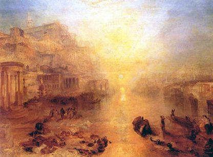 """William Turner """"Ovide expulsé de Rome"""